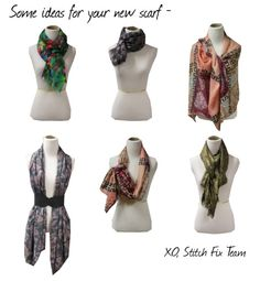 How to wear your favorite scarf