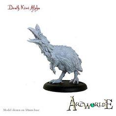 Warploque Miniatures | The Monsters of ArcWorlde (like Culchan)