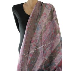 Pashmina - Wrap yourself in one of these luxuriously pashmina shawl / scarf.