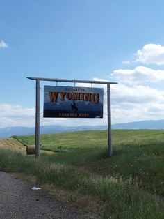 Welcome to Wyoming! Come and visit but please don't stay!!!