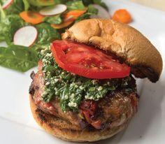 #GlutenFree Mediterranean Pork Burgers #Recipe