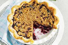 Blueberry Sour Cream Pie Summer Pie, Summer Fresh, Best Blueberry Recipe, 13 Desserts, Cream Pie Recipes, Sweet Pie, Pie Dessert, Desert Recipes, Sour Cream