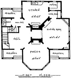 1000 ideas about victorian house plans on pinterest for Victorian stick style house plans