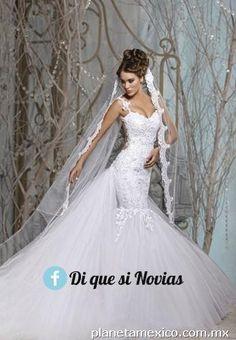 5d2706ea43 121 mejores imágenes de vestidos de novia