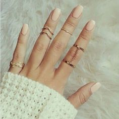 Cheap Rings, Buy Directly from China Suppliers: 2015 Fashion Punk Gold/Silver Midi Finger Knuckle Rings for Women Aneis Femininos Ring Sets Jewelry 5pcs bijoux women b