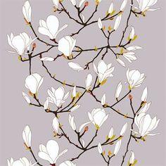 Den vackra vaxduken Keisarinna kommer med härliga fina blommor designad av Erja Hirvi för Marimekko. Passar perfekt på altanbordet eller på köksbordet som en vacker och praktisk duk.