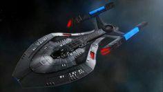 Canaveral Class Starship - Star Trek concept