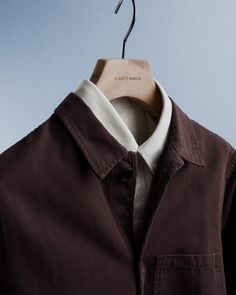 "354 Beğenme, 5 Yorum - Instagram'da A Day's March (@adaysmarch): ""The umber brown canvas overshirt."""