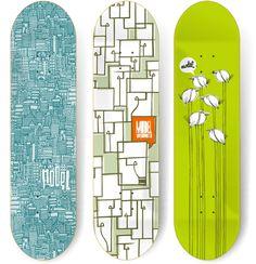 100 Crazy Skateboard Designs | Abduzeedo Design Inspiration