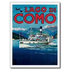 Italy Gifts - T-Shirts, Art, Posters & Other Gift Ideas. Lago di Como Italy.