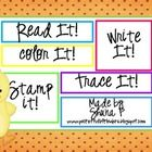 A simple freebie to practice numbers!Students read it, write, it, trace it, color it and stamp it.