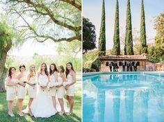 Haley + Brian: Hummingbird Nest Ranch wedding  Bridal party
