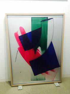 David Renggli at Peter Klichmann booth, Art Basel