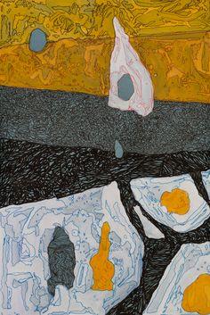 AMANECER Autor:Antonio Ibarra Tamaño: 45 x 35 cm Año: 2013 Técnica: Acrílico y tinta sobre papel