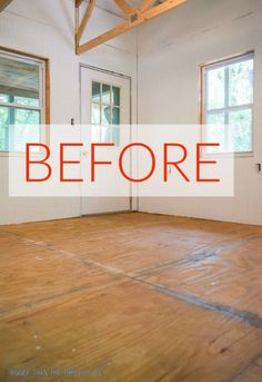 Need to update your outdated floor on a tight budget? These DIY flooring ideas are budget-friendly, but high on style. Check out these affordable ways to update old tile, wood, vinyl and linoleum floors. Installing Laminate Flooring, Linoleum Flooring, Diy Flooring, Inexpensive Flooring, Staining Plywood, Osb Plywood, Plywood Plank Flooring, Plywood Walls, Unique Flooring