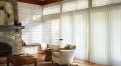 Alustra Luminette Privacy Sheers: Hunter Douglas Window Treatments
