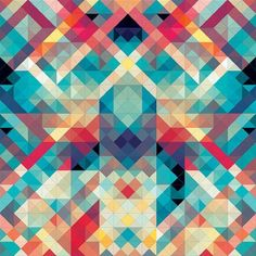 i love geometric patterns and repetitive lines in design