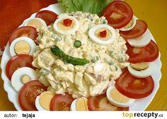 Vajíčkový salát Aladár recept - TopRecepty.cz