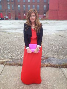 color block look for a date night #bloggerstyle #blogger
