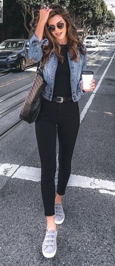 26 Trendy Fall Women Outfits to Copy Right Now - Mode Frauen - Roupas Cute Spring Outfits, Summer Work Outfits, Casual Fall Outfits, Fall Winter Outfits, Stylish Outfits, Easy Outfits, Stylish Girl, Dress Casual, Women Casual Outfits