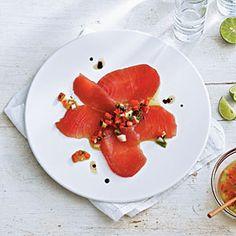 15 Ways With Lime | Tiradito of Tuna | CoastalLiving.com