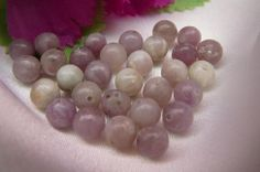 Lavender stone beads - Available in 4mm, 6mm and 8mm