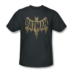 Retro style 1960s t-shirt that adds color to your casual wear. This regular fit shirt sports a cool distressed design that's perfect for fans of vintage fashion. This Batman TV series tee makes a fun gift for anyone who loves retro TV shows. Available in sizes S, M, L, XL, XXL, and XXXL.
