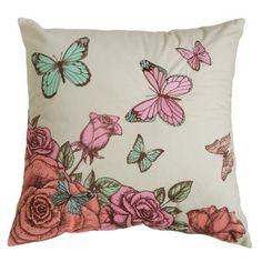 Super Soft Knitted Velvet Digital Printed Embroidery Butterfly Cushion Cover on Made-in-China.com