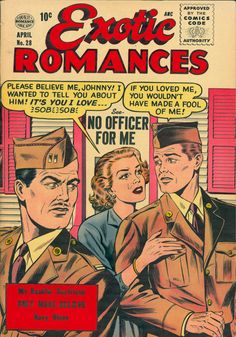 Exotic Romances, April 1956.