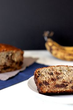 Chocolate Chip and Oatmeal Banana Bread | A Nerd Cooks