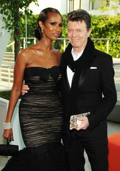 Bowie and Iman celebrate 20 yrs together