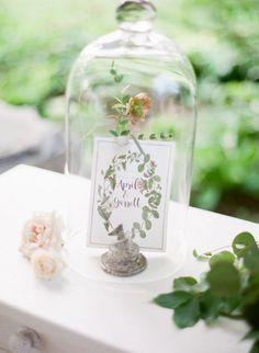 Whimsical botanical weeding monogram styling #cedarwoodweddings Vintage Botanical Inspiration from Cedarwood Weddings | Cedarwood Weddings