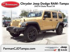2013 Jeep Wrangler Unlimited Sahara 4x4 - Dune Clear Coat