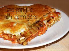 ricetta pizza parigina alla parmigiana