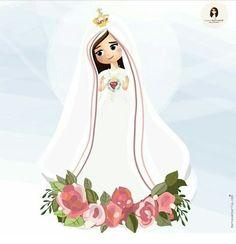 Nossa Senhora de Fátima! Rogai por nós 🙏 Catholic, Disney Characters, Fictional Characters, Aurora Sleeping Beauty, Disney Princess, Design, Quotes, Saints, Tropical Party