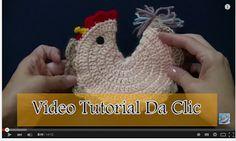 Delicadezas en crochet Gabriela: Video tutorial Gallina agarradera