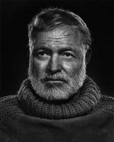 [어니스트 헤밍웨이,Ernest Hemingway], 유섭 카쉬(Yousuf Karsh).  1957, 사진.젤라틴 실버 프린트, 50 x 60cm, 유섭카쉬 재단.