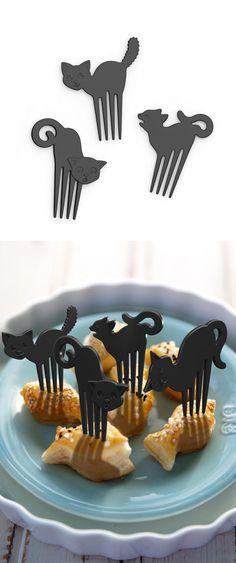 Black Cats Food Picks #Halloween