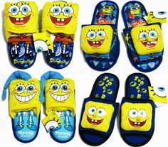 http://www.modernshoesonline.com/mens-slippers/ Brand:Nickelodeon Style: Slipper Shoes US Shoe Size (Women's): 6-10 Women Men Adult Spongebob Squarepants Plush Slippers #Shoes $24.00