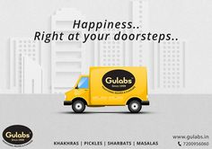 Relish our offerings just with a click. Follow simple steps to order online from #Gulabs
