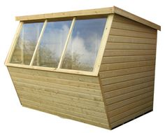 Return Fronted Potting Shed Timber Garden Sheds, Outdoor Buildings