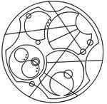 The unofficial Circular Gallifreyan (Doctor Who) writing system! Write notes that only the Doctor can understand. Dr Who Tattoo, Doctor Who Tattoos, 1 Tattoo, Circular Gallifreyan, Bbc, Tv Doctors, Don't Blink, Geek Out, Nerdy