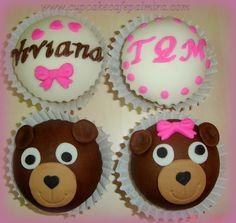 Cupcakes Ositos