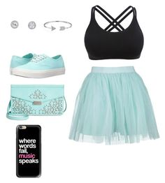 """Where words fail music speaks"" by lovebug4582 on Polyvore featuring Boohoo, Vans, Danielle Nicole, Bling Jewelry and Casetify"