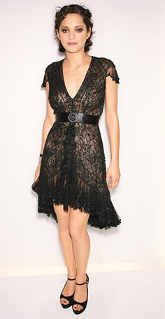 Chanel Haute Couture worn by Marion  cotillard