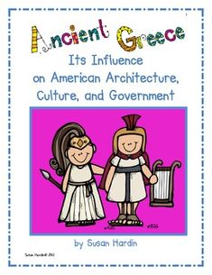 Susan Hardin's Ancient Greece unit...  You will have everything you need to teach an engaging and thorough unit on Ancient Greek Civilization.  This product is specifically designed to meet the Georgia Performance Standards for 3rd grade Social Studies, however it will fit most any curriculum that needs to teach a comparison of historical events to today, or a curriculum that teaches about the foundations of U.S.