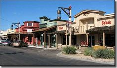 Scottsdale, Arizona Shops in the Old Town District of Scottsdale