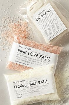 luxurious pink bath salts  http://rstyle.me/n/jbdjzpdpe