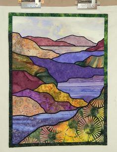 Lindas Landscapes: Color Me Crazy (and Sometimes Crazy Works!) Importance color sashing