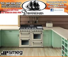 Go big or go home with a #Smeg 110cm Gas/Electric Victoria Cooker TR4110P1 for #ValentinesDay at #Drommedaris.